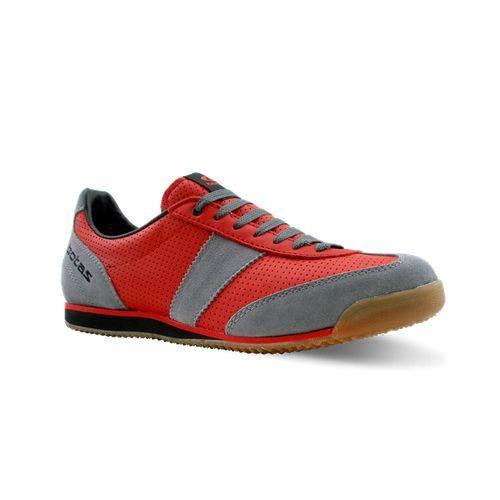 651db615bae nohejbalová obuv botas CLASSIC 08 PRO červená šedá