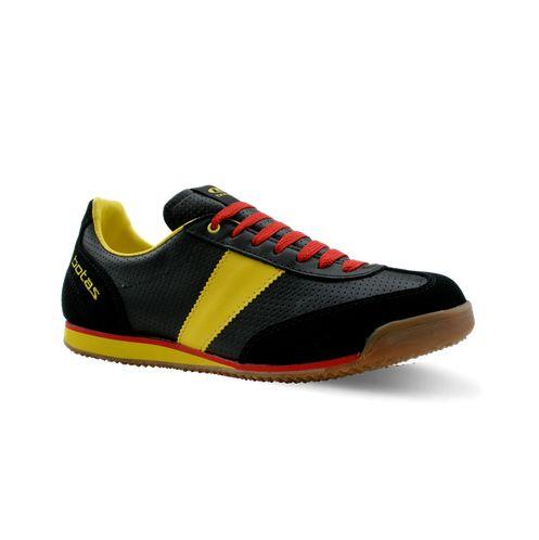 nohejbalová obuv botas CLASSIC 08 PRO černá žlutá červená bb96e3c2ef